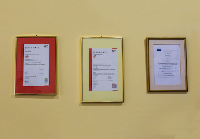 certificates kouis new
